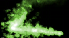 Insaine Green HD720 Stock Footage