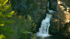 Linville falls Stock Footage