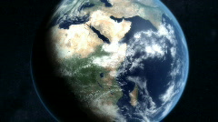 Earth Zoom Stock Footage