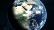 Stock Video Footage of Earth Zoom