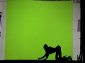 Female Nude Model 91 Stock Footage