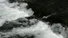 River rapids waterfall P HD 2634 Stock Footage