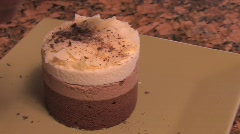 A yummy sweet cake Stock Footage