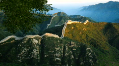 Great Wall Stock Footage