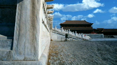 ancient building,China - stock footage