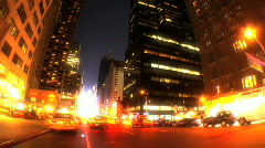 Broadway,New York T/Lapse Stock Footage