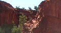 Red Rock In The Jemez Mountains HD Footage