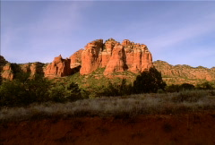 Sedona Arizona Red Rocks NTSC Stock Footage