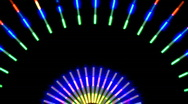 Colorful Neon Lights Clip 5 of 15 Stock Footage