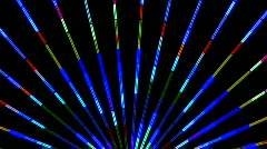 Colorful Neon Lights Clip 2 of 15 - stock footage