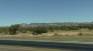 Stock Video Footage of Desert Road In New Mexico