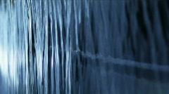 Water wall 1 texture-JPEG 100 NTSC Stock Footage