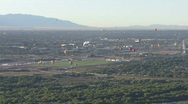 View Above Albuquerque Stock Footage