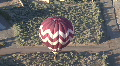 Hot Air Balloon View From Above Footage