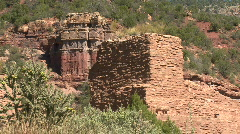 Ruins Of Colonial Spanish Church Stock Footage