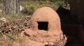 Ruins Of An Adobe Mud Oven HD Footage