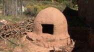 Ruins Of An Adobe Mud Oven Stock Footage