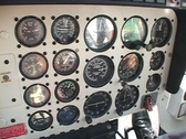 Inside helicopter Stock Footage