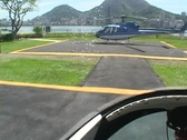 Take off helicopter Stock Footage