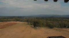 Antietam aerial shot battlefield battlefeild 2 Stock Footage