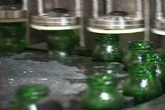 Machine/beverage factory Stock Footage