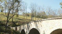 Antietam Burnside Bridge two Stock Footage
