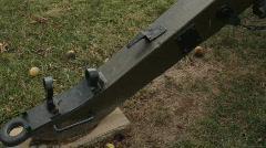 Antietam Canon in field 2 Stock Footage