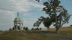 Antietam Civil war memorial Stock Footage