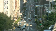 Stock Video Footage of San Francisco City Traffic Time Lapse - Clip 5