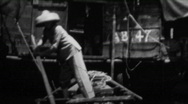 Stock Video Footage of Port of Hong Kong - Vintage 8mm Film