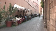 Stock Video Footage of Restaurant in Rome
