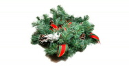 Stock Video Footage of christmas wreath