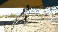 Pre-teens on playground - 6 Stock Footage