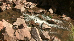 Babbling Brook In The Jemez Mountains Stock Footage