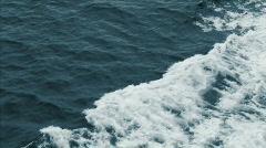 db ship wake - stock footage