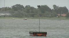 Storm-Boat-BalticSea-01 Stock Footage