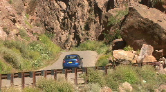 Canyon Road In The Jemez Mountains Stock Footage