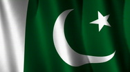 Stock Video Footage of Pakistan Flag Loop