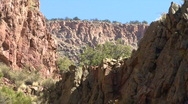 A Canyon In The Jemez Mountains Stock Footage