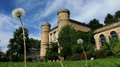 Germany Karlsruhe Botanic garden Stock Footage