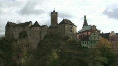 Loket Castle Stock Footage