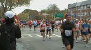 Marathon Beginning (2 of 3) Stock Footage