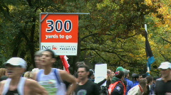 Stock Video Footage of The Final 300 Yards (1 of 4)