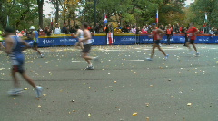 Marathon Home Stretch (2 of 5) Stock Footage