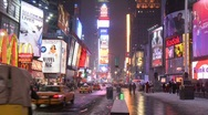 Stock Video Footage of 60 sek of times square HD