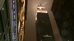 Smoke from Empire State Building - stock footage