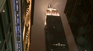 Stock Video Footage of Smoke from Empire State Building