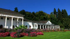 Casino architecture in Baden-Baden Germany Europe Stock Footage