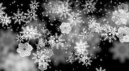 Christmas time - 9 (snow) Stock Footage