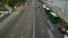 City car - stock footage